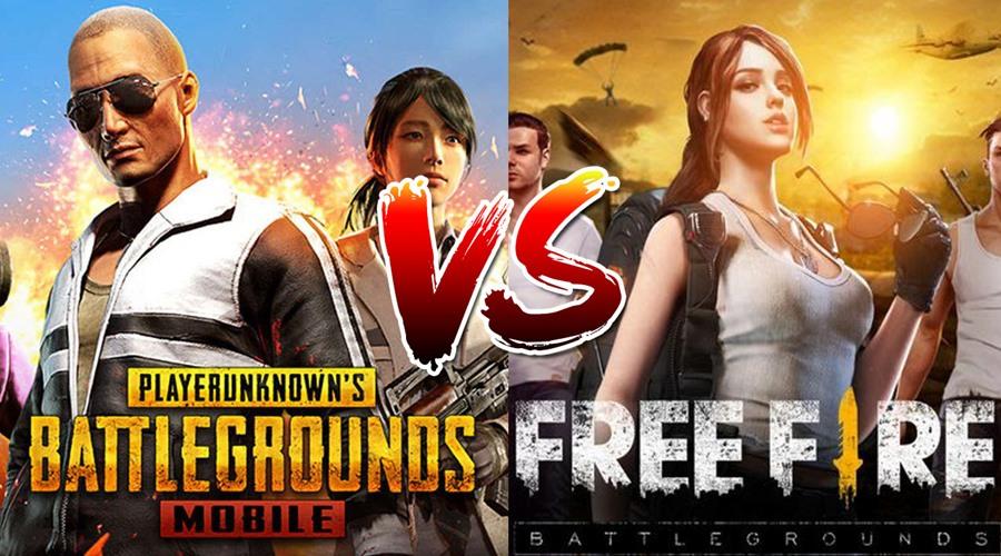 pubg-mobile-vs-free-fire Free Fire é melhor que PUBG Mobile? Entenda a polêmica!