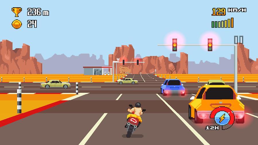 retro-highway-android-1 25 Melhores Jogos Offline para Android Grátis de 2018 #7