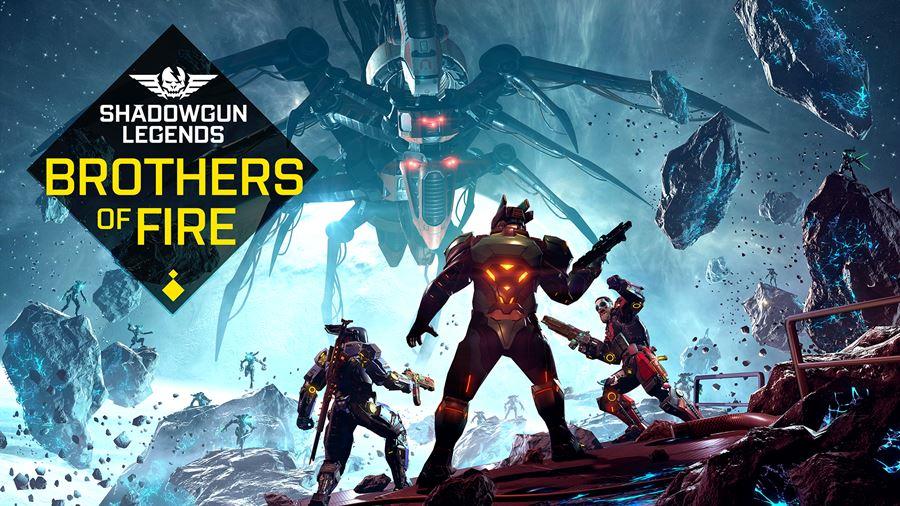 shadowgun-legends-brothers-of-fire Shadowgun Legends ganha atualização com novas dungeons, armas e mais