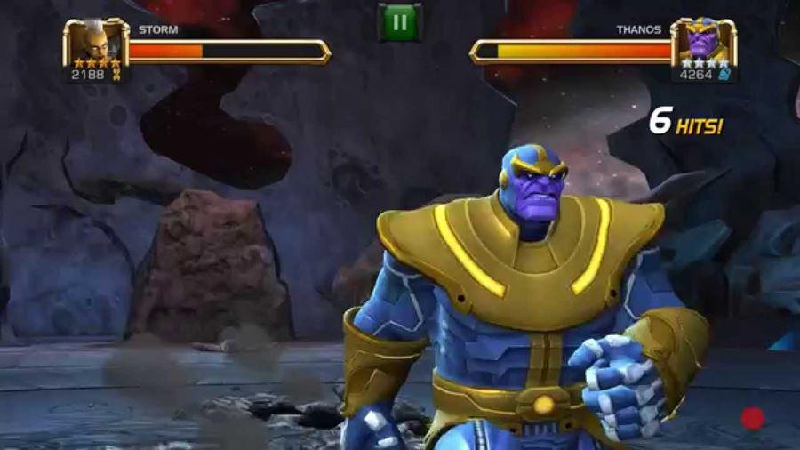 thanos-marvel-contest-champions A Guerra Infinita dos Vingadores continua nos jogos para Android e iOS