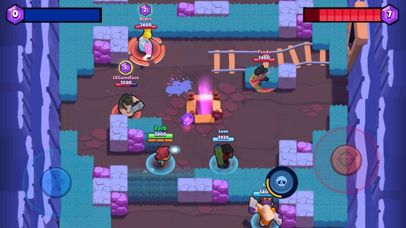 Brawl-Stars-2 TOP 10 Melhores Jogos de Ação para Android e iPhone de 2018