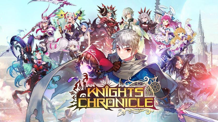 Knights-Chronicle Knights Chronicle é mais um RPG Online em português da Netmarble
