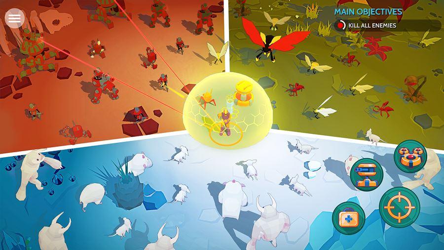 Space-Pioneer TOP 25 Melhores Jogos para iPhone e iPad Grátis de 2018 - Parte 1