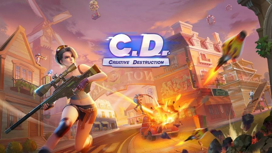 "creative-destruction-android Creative Destruction: ""clone"" de Fortnite ganha ""modo Futebol"""