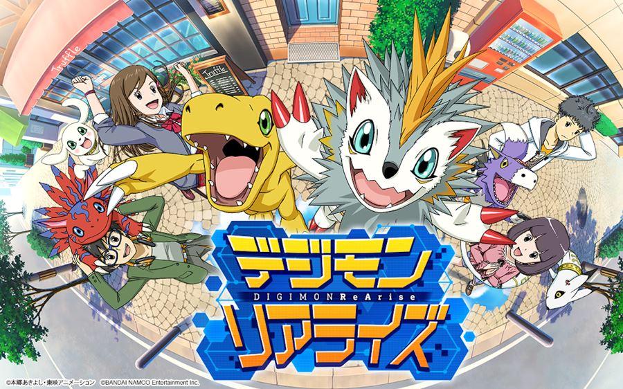 digimon-rearise Digimon ReArise é lançado para iOS e Android (no Japão)