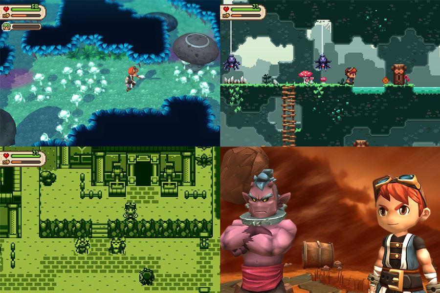 evoland-2 30 Melhores Jogos RPG OFFLINE para Android e iOS