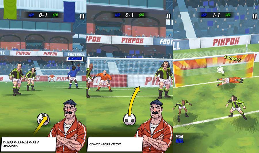 flick-legends Copa do mundo: Melhores Jogos de Futebol Offline (Android e iOS)