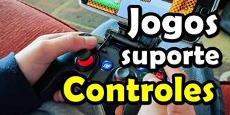 melhores jogos com suporte a controles bluetooth usb