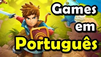melhores jogos em portugues para Android