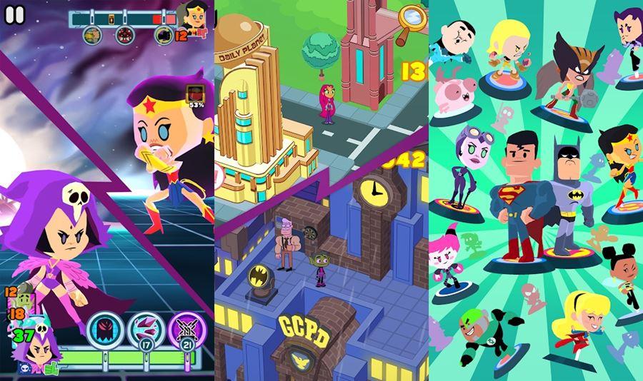 Teen-Titans-GO-Figure-Os-Jovens-Titãs-em-Figuras-1 Teen Titans GO Figure: novo jogo dos Jovens Titãs chega ao Android e iOS