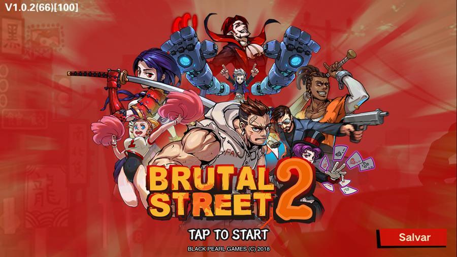 brutal-street-2-2 Brutal Street 2: muita pancadaria neste jogo offline para Android e iOS