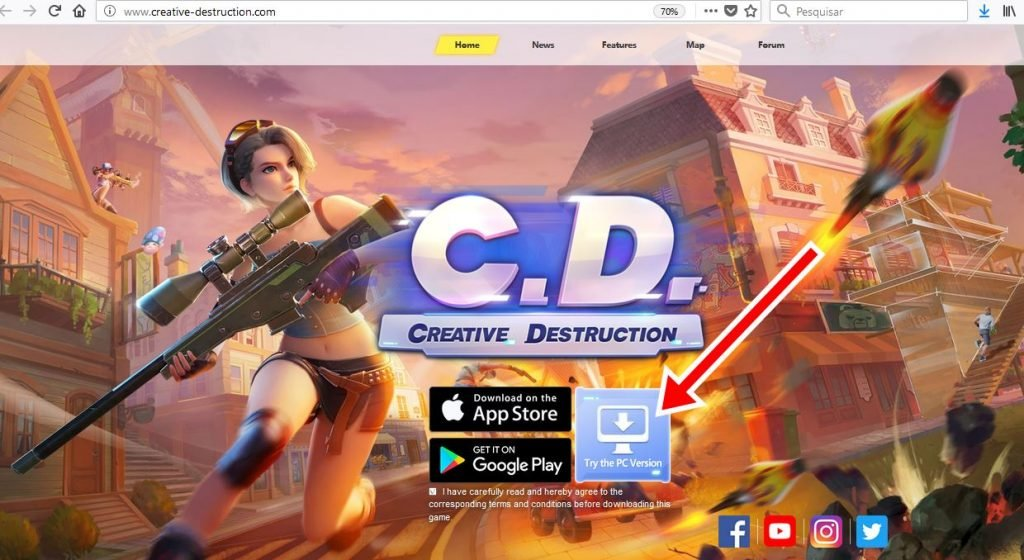 como-jogar-creative-destruction-pc-windows-1024x560 Como jogar Creative Destruction (FortCraft) no PC
