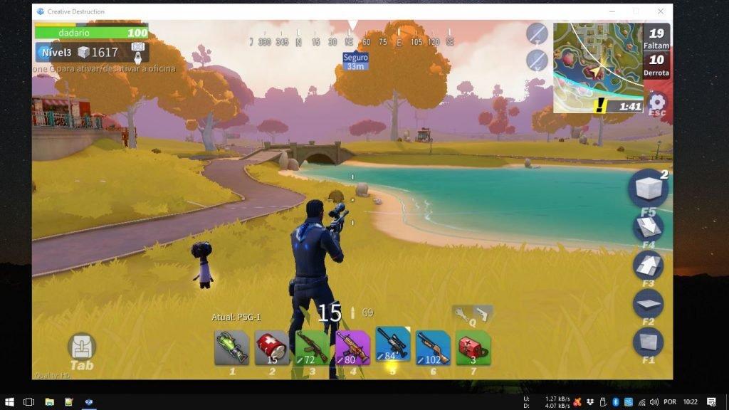 fortcraft-creative-destructon-versao-pc-como-instalar-baixar-jogar-1024x576 Como jogar Creative Destruction (FortCraft) no PC