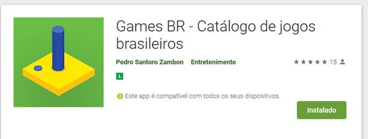 games-br-aplicativo-jogos-brasileiros Games BR: Aplicativo para Android te ajuda a localizar jogos brasileiros