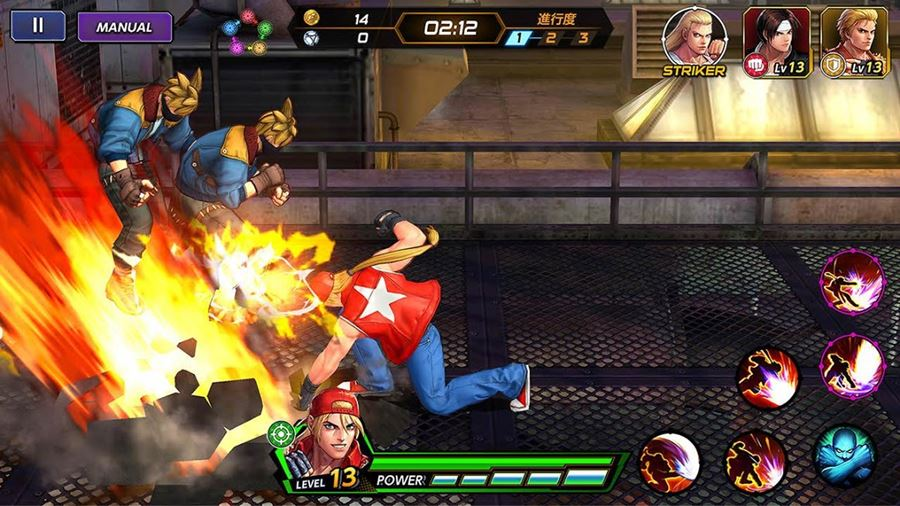 954582cbb80 The King of Fighters All Star  como baixar o novo game no Android ...