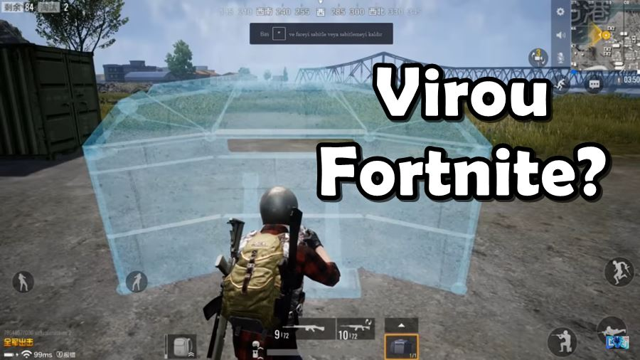 pubg-mobile-timi-virou-fortnite Jogos parecidos com Fortnite para Android