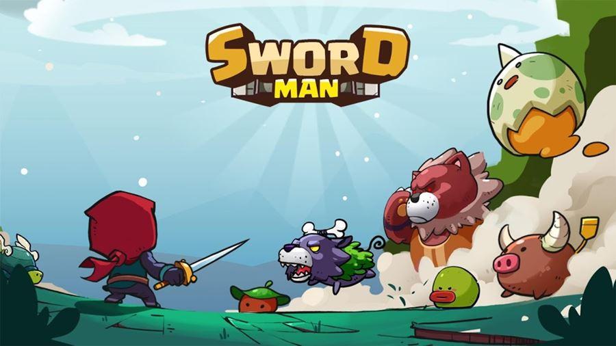 sword-man-android-jogo-offline Sword Man Monster Hunter é um jogo 2D fofinho e offline