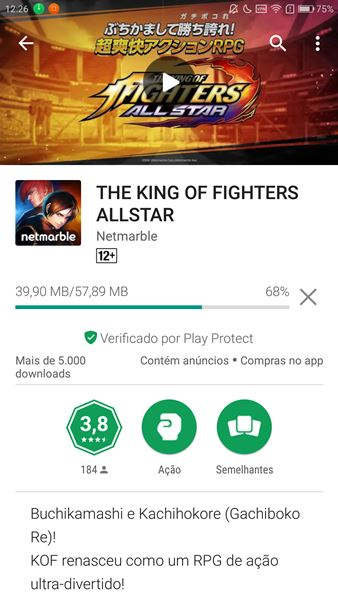 vpn-japao-google-play-3 The King of Fighters All Star: como baixar o novo game no Android