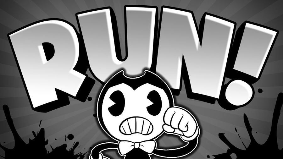 "Bendy-in-Nightmare-Run-android-iphone Bendy in Nightmare Run é um ""corrida infinita"" com visual ""Cuphead"""