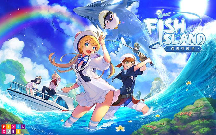 Fish-Island-The-Route-of-Fairy-1 Fish Island: Jogo de RPG e Pesca que deveria vir para o Ocidente