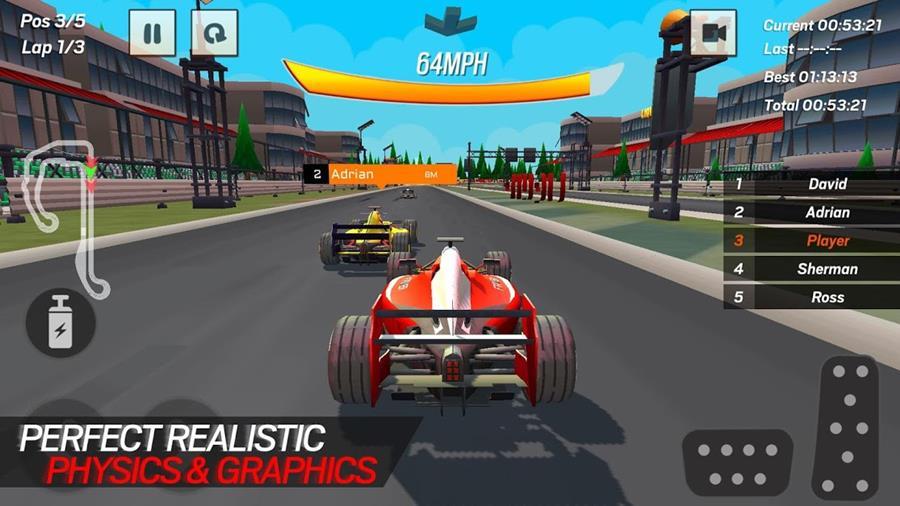 Formula-1-Race-Championship-1 25 Jogos Offline para Android 2018 - parte 8