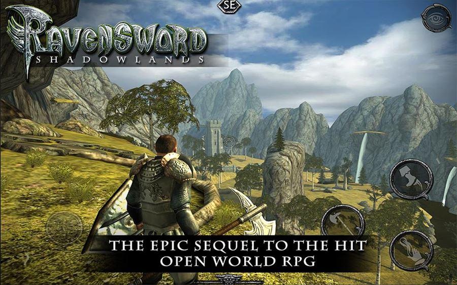 Ravensword-Shadowlands Ravensword e mais: 13 Jogos Pagos de Graça na Google Play