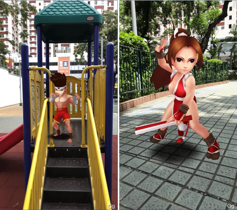 "The-King-of-Fighters-GO-Pic-4 Existe um ""Pokémon GO"" de The King of Fighters em testes na China"