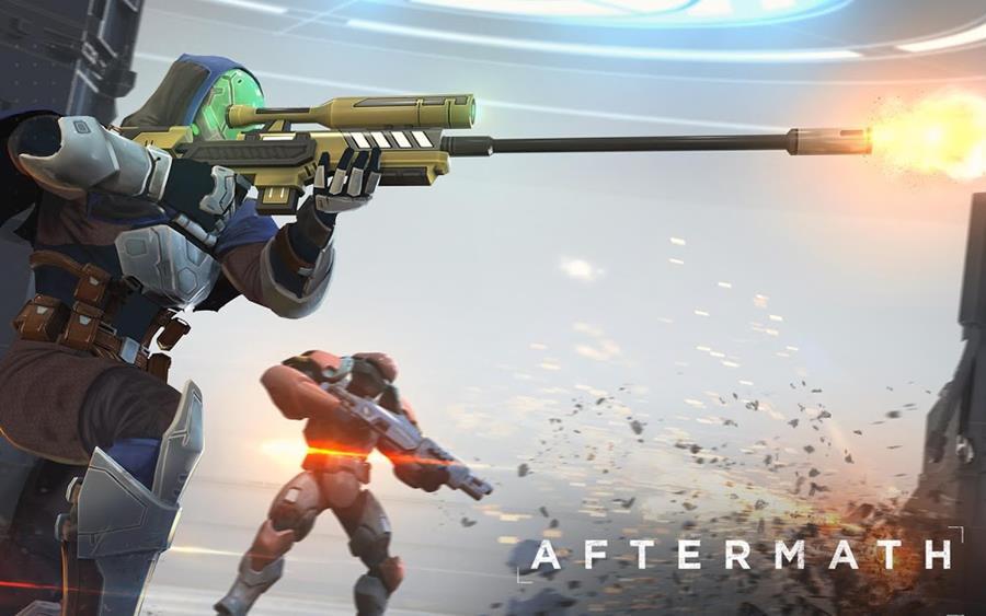 """aftermath-android Aftermath: Novo jogo de tiro com visão """"aérea"""" (Android)"""