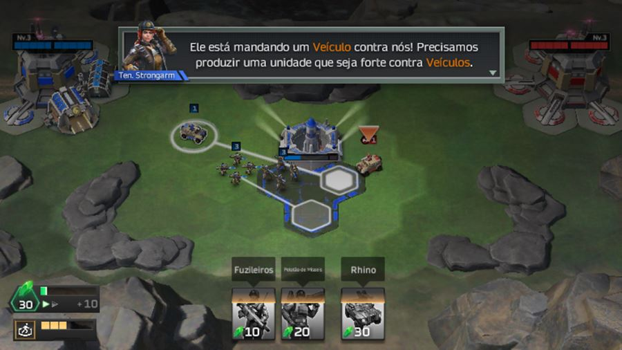 command-conquer-rivals-android-gameplay Command & Conquer: Rivals NÃO é um clone de Clash Royale