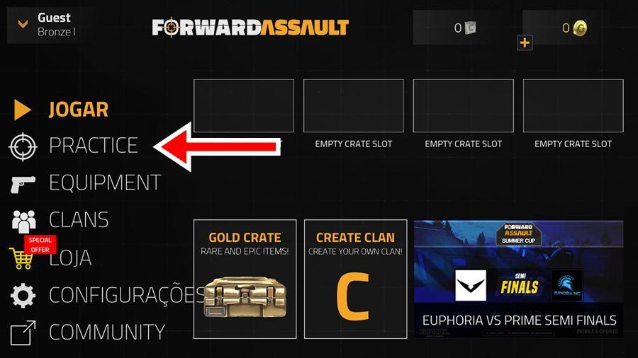 forward-assault-android-offline-3 Forward Assault: modo OFFLINE deste jogo para Android é muito divertido