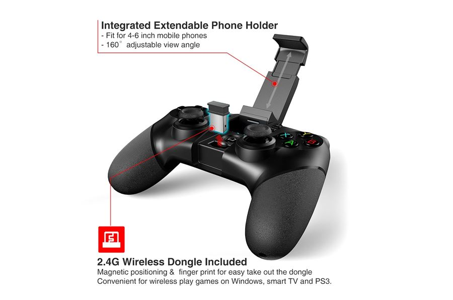 ipega-9076 Melhores Controles para Celular Android de 2018