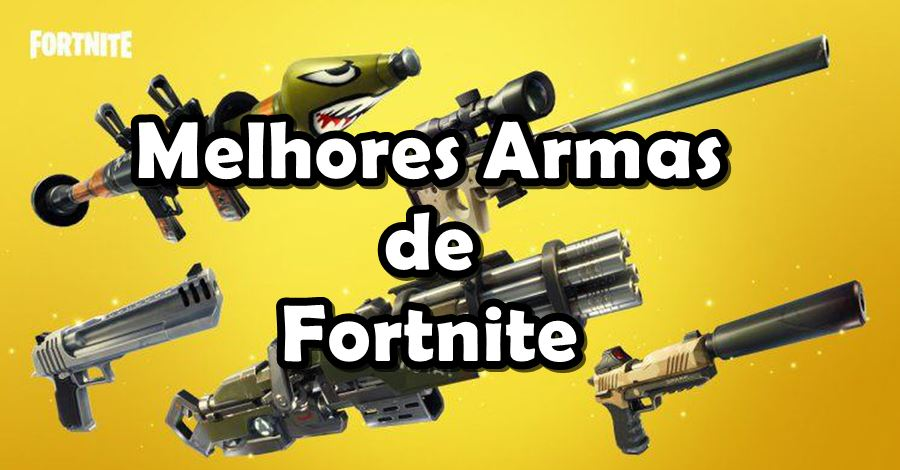 melhores-armas-fortnite-android-iphone Fortnite para Android: Conheça as Melhores Armas (por categoria)