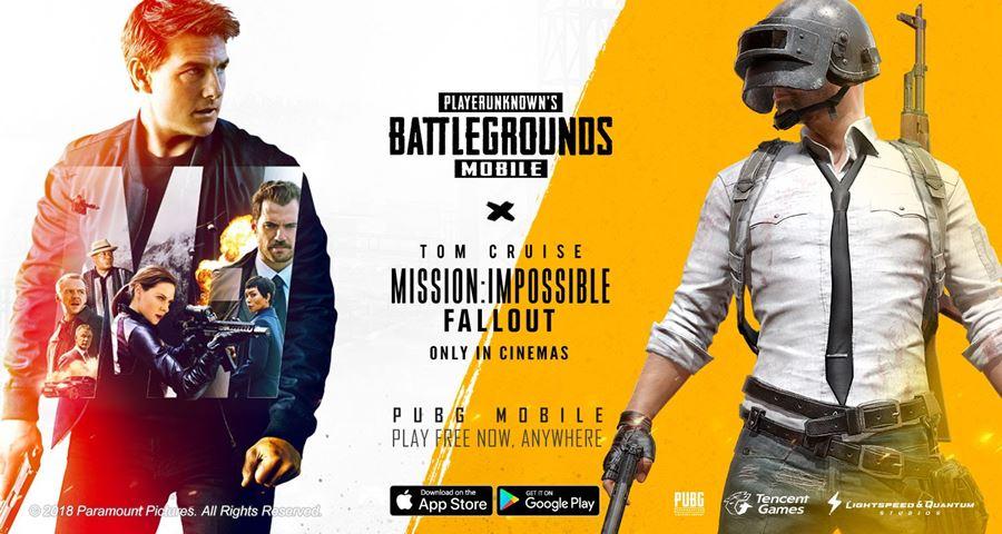 pubg-mobile-missao-impossivel-fallout PUBG Mobile ganha conteúdo do filme Missão Impossível - Efeito Fallout
