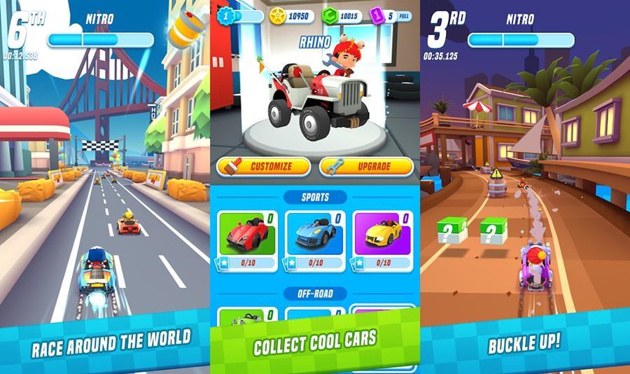 supercar-city 10 Melhores Jogos para Android Grátis – Agosto de 2018