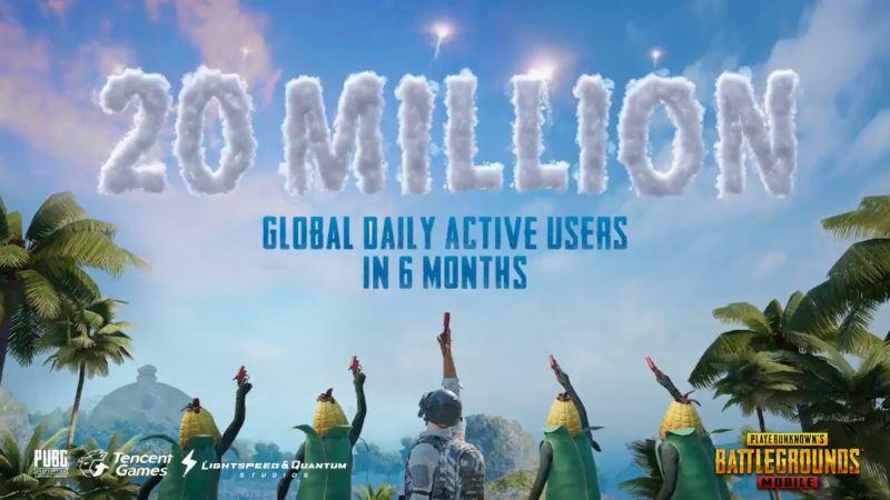 20-milhoes-jogadores-pubg-mobile PUBG Mobile é sucesso absoluto com 20 milhões de usuários por dia!
