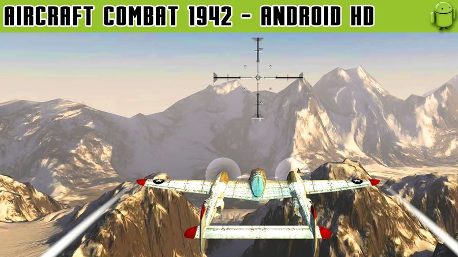 Air-Combat-1942 50 Jogos para Android compatíveis com Controle e Gamepad Bluetooth