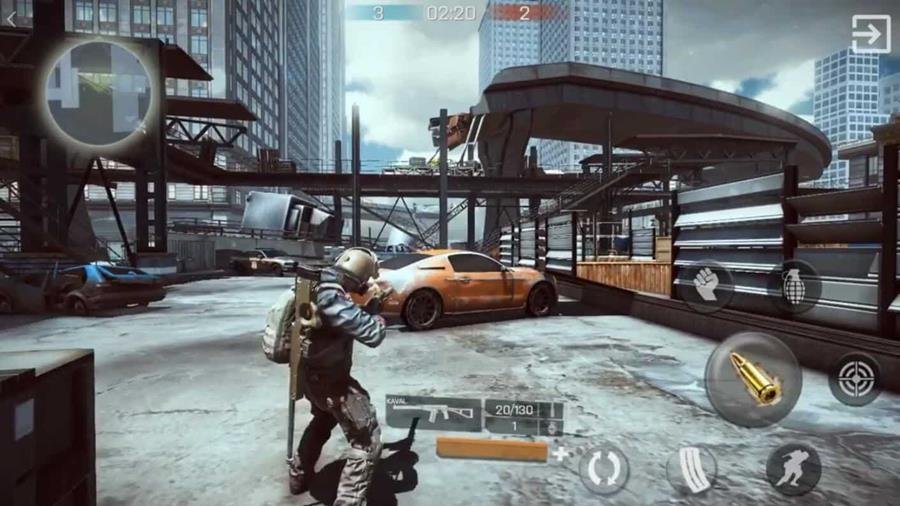 "Bullet-Battle-iOS-Screen-3 Bullet Battle: Jogo de Tiro Online inspirado em ""The Division"""
