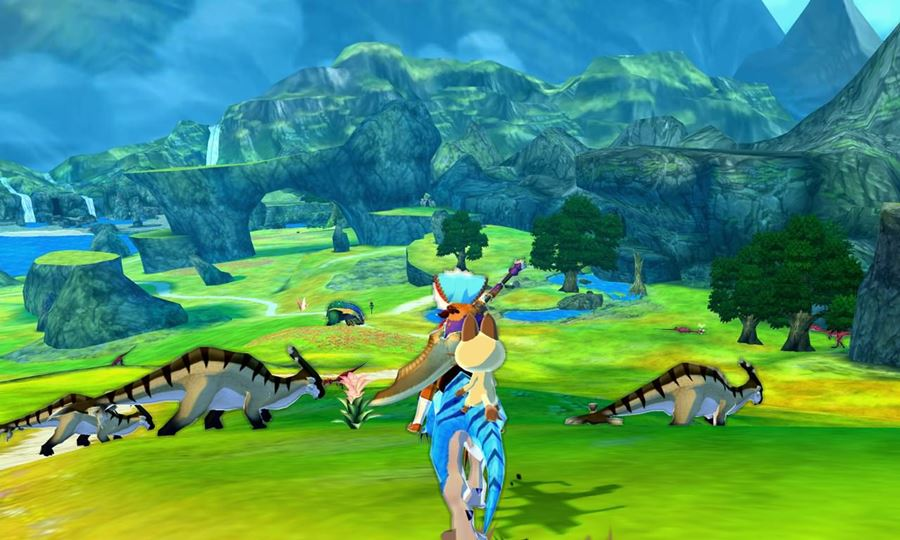 Monster-Hunter-Stories-gameplay-1 Monster Hunter Stories é lançado em inglês no Android e iOS