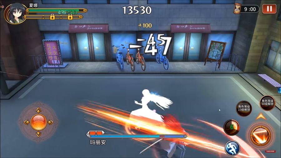 Shakugan-no-Shana-android Melhores Jogos de Anime para Celular Android de 2018 (até agora)