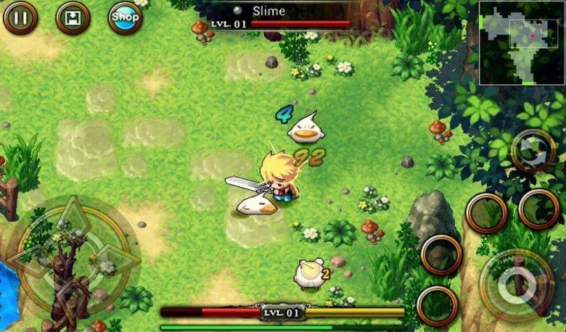 Zenonia_4-810x475 50 Jogos para Android compatíveis com Controle e Gamepad Bluetooth