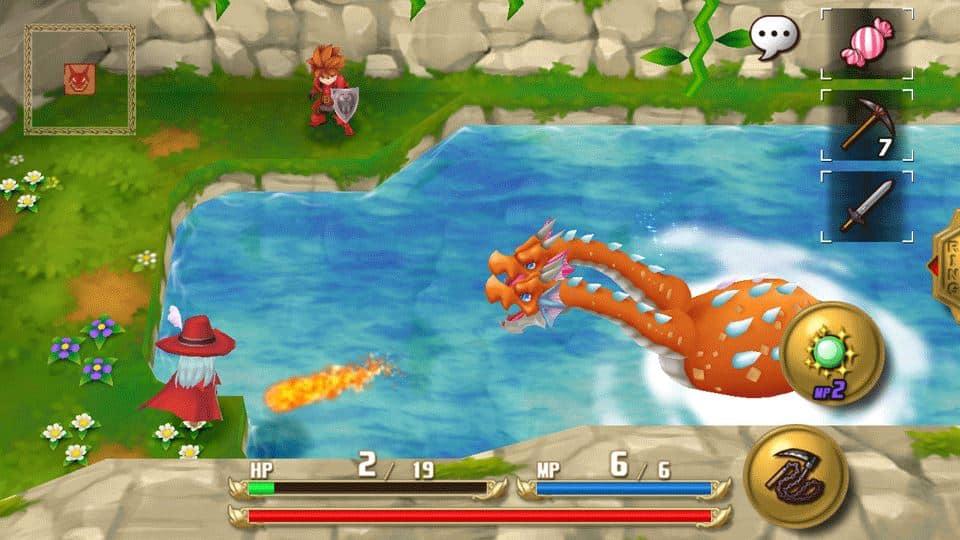 adventures-of-mana 30 Melhores Jogos RPG OFFLINE para Android e iOS