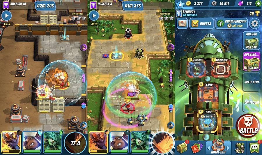 all-star-troopers-ios 10 Melhores Jogos Grátis para iPhone e iPad - Agosto 2018