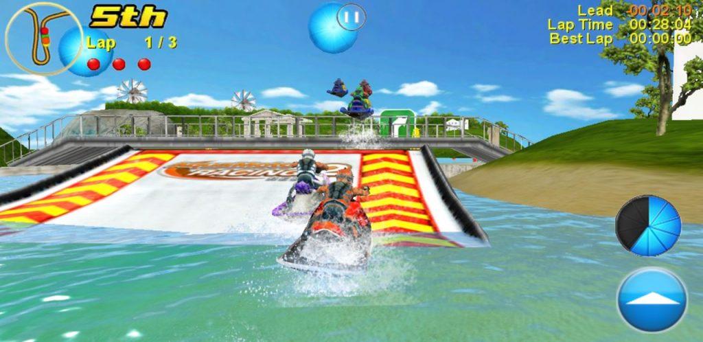 aqua-moto-racing-2-android-offline-game-1024x498 Deslize nas águas tropicais de Aqua Moto Racing 2, novo jogo para Android