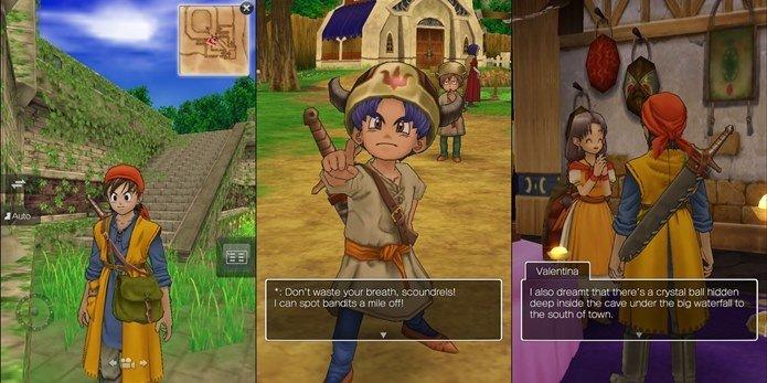 dragon-quest-8-ios 30 Melhores Jogos RPG OFFLINE para Android e iOS