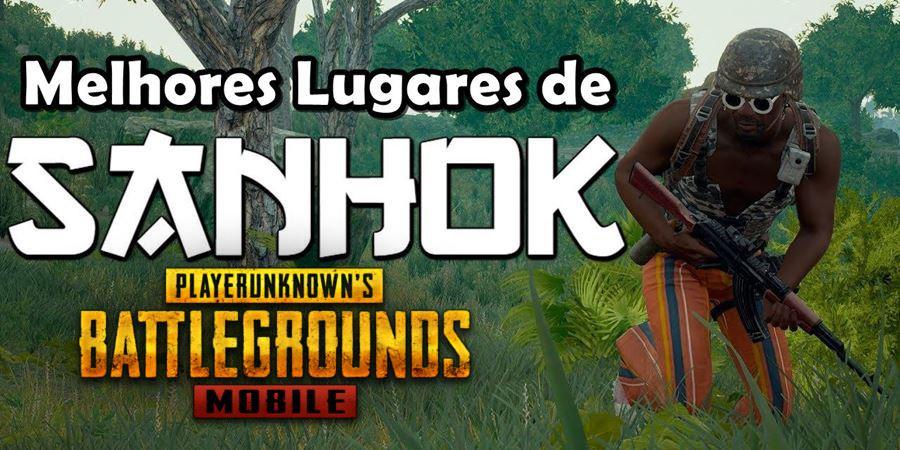 """pubg-sanhok-loot-1 PUBG Mobile: os melhores lugares para """"cair"""" em Sanhok"""