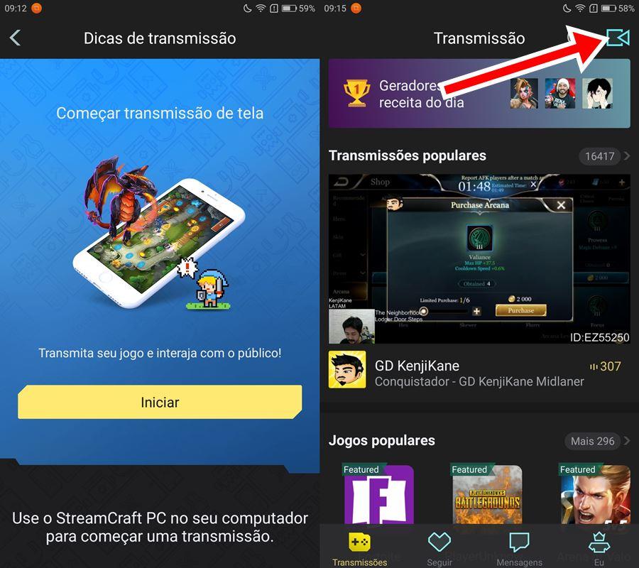 """screamcast-teste-2 Como ganhar dinheiro """"streamando"""" com a Streamcraft"""