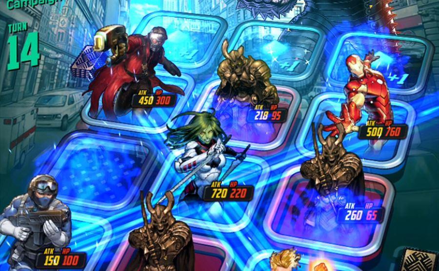 Marvel-Battle-Lines-android Melhores Jogos para Android da Semana #43 de 2018