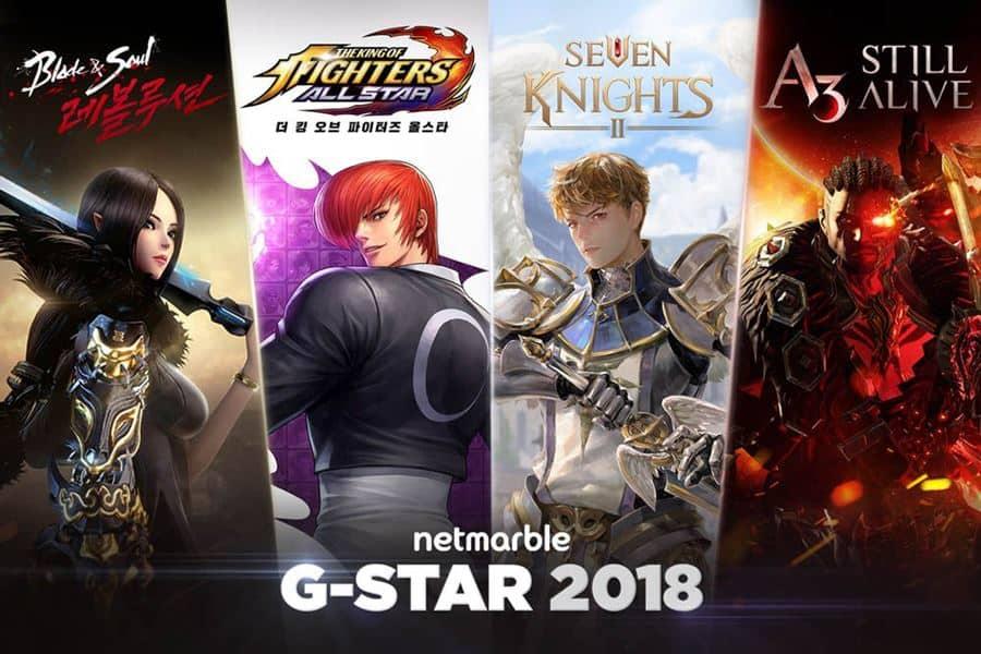 Netmarble-Gstar-2018-Main Netmarble prepara novos jogos para Android e iOS na G-Star 2018