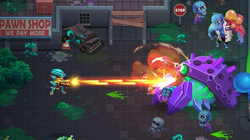 alien-agent-star-battlelands-android 25 Jogos Offline para Android 2018 - parte 8