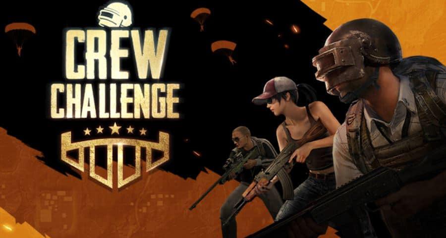 crew-challenge-pubg-mobile PUBG Mobile Crew Challenge: o que é e como se increver